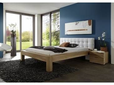 SALE Massivholzbett 140 x 200 cm günstig Buche massiv Select Auf Lager !