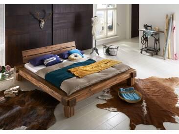 SAM® Massivholzbett Balkenbett 160 x 200 cm aus Akazie ELKE Auf Lager !