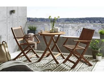 SAM® Balkonmöbel Akazie Tisch rund 65cm SILKEBORG/SANGERUP Auf Lager !