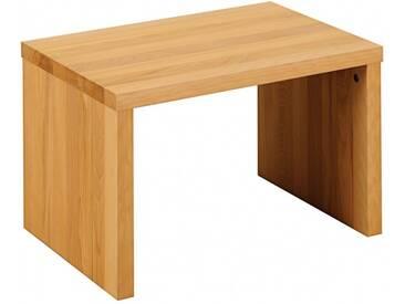 SAM® Nachttisch 50 x 36 cm Massivholz Wildeiche Nachtkonsole BEN 1 Auf Lager !