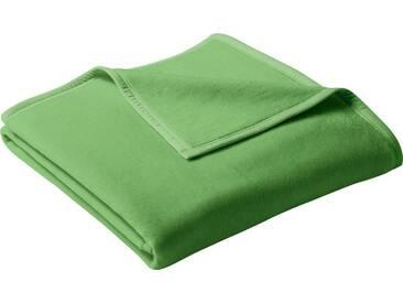 Biederlack Wohndecke »Uno Cotton«, 150x200 cm, grün