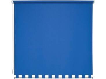 Liedeco Seitenzugrollo, H/B 180/62 cm, Montage mit Bohren, blau