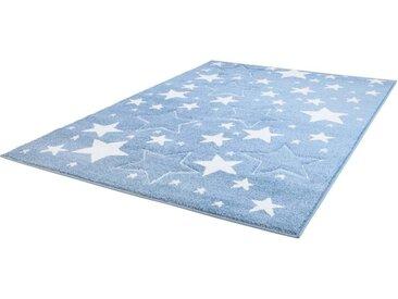 Carpet City Kinderteppich  »Bueno Kids 1325«, 120x170 cm, 13 mm Gesamthöhe, blau