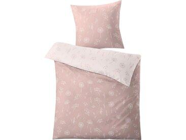 Kleine Wolke Wendebettwäsche »Leone«, 155x220 cm, rosa