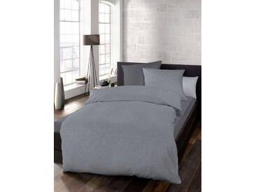 Schlafgut Bettwäsche »Select«, 135x200 cm, waschbar, grau, aus 100% Baumwolle