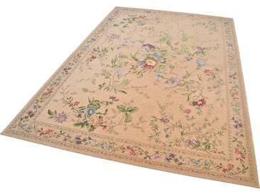 Theko® Teppich »Flomi Sagrini«, 80x150 cm, 3 mm Gesamthöhe, beige