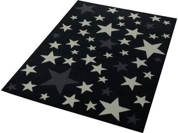 Hanse Home Teppich »Sterne«, 140x200 cm, 9 mm Gesamthöhe, grau
