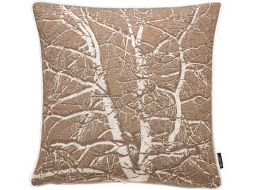 Emotion Textiles Kissenhülle »Birke«, gelb