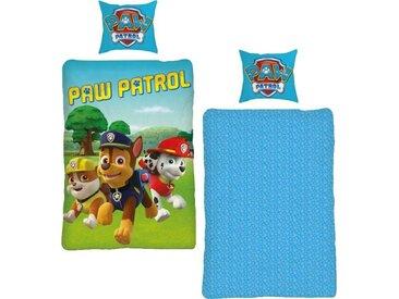 Paw Patrol Kinderbettwäsche »Paw Patrol Dogs«, 80x80 cm, trocknergeeignetes & maschinenwaschbares Material, bunt, aus reiner Baumwolle