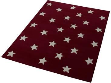 Hanse Home Teppich »Stars«, 140x200 cm, 9 mm Gesamthöhe, rot