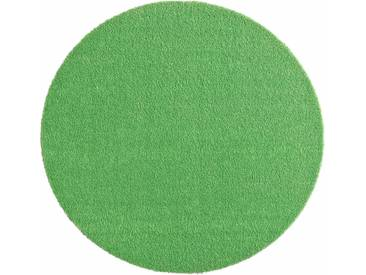 Hanse Home Teppich »Deko Soft«, 9 (Ø 75 cm), 7 mm Gesamthöhe, grün