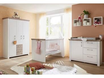 Babyzimmer-Komplettset  »Stralsund«, Schlafwelt, weiß