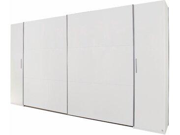 Rauch Schwebetürenschrank »Kronach«, T/H 59/210 cm, Breite 269 cm, 4-türig, weiß