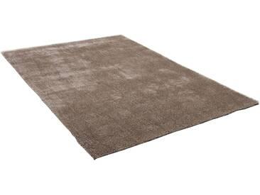 Theko® Hochflor-Teppich »Alessandro«, 50x80 cm, 25 mm Gesamthöhe, beige