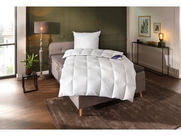 Queens Textiles Daunenbettdecke »Ben«, 135x200 cm, weiß