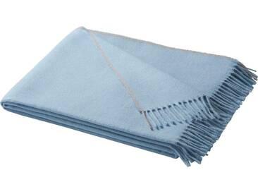 Biederlack Decke »Conny«, 130x170 cm, blau