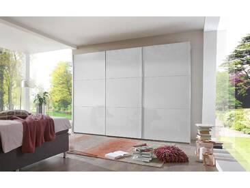 Bruno Banani Schwebetürenschrank, pflegeleichte Kunststoffoberfläche, Breite 300 cm, weiß