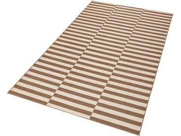 Hanse Home Teppich »Panel«, 160x230 cm, 9 mm Gesamthöhe, braun