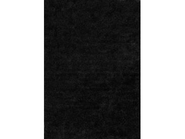 Arte Espina Hochflor-Teppich »Maedow 9999«, 160x230 cm, 40 mm Gesamthöhe, schwarz