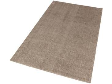 Schöner Wohnen-kollektion Teppich »Melody«, 133x190 cm, 20 mm Gesamthöhe, braun