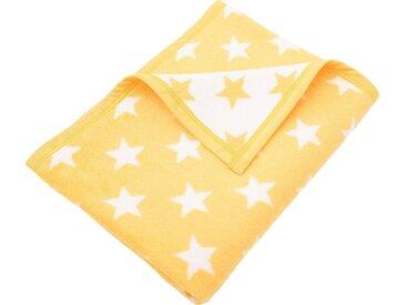 Sei Design Babydecke »Sterne«, 90x120 cm, gelb