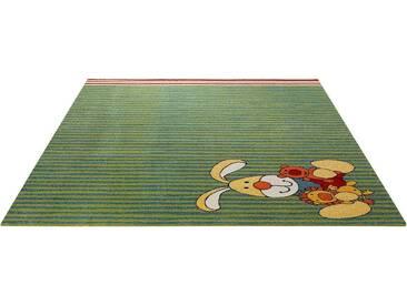 Sigikid Kinderteppich »Semmel Bunny«, 133x200 cm, allergikergeeignet, 13 mm Gesamthöhe, grün