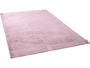 Tom Tailor Teppich »Shine uni«, 85x155 cm, 8 mm Gesamthöhe, rosa