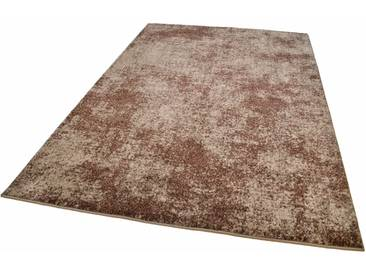 Tom Tailor Teppich »CLOUD«, 200x285 cm, 12 mm Gesamthöhe, braun