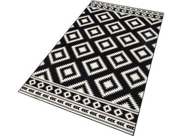 Hanse Home Teppich »Ethno«, 160x230 cm, 9 mm Gesamthöhe, schwarz