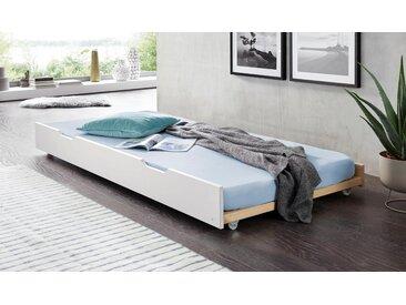 Bettschubkasten als 2. Schlafgelegenheit, Schlafwelt, weiß