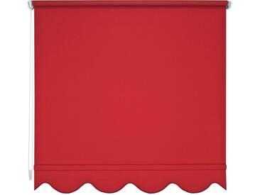 Liedeco Seitenzugrollo, H/B 180/242 cm, Montage mit Bohren, rot