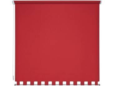 Liedeco Seitenzugrollo, H/B 180/202 cm, Montage mit Bohren, rot