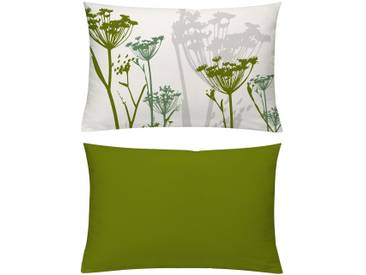 Emotion Textiles Kissenhüllen »Spicy«, grün, blickdichter Stoff