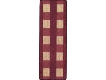 Andiamo Teppich »Dijon«, 67x120 cm, 6 mm Gesamthöhe, rot