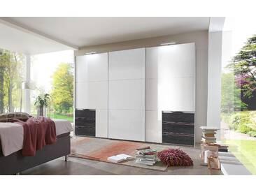 Bruno Banani Schwebetüren-Schrank, pflegeleichte Kunststoffoberfläche, Breite 300 cm, weiß