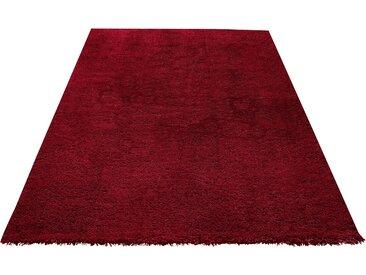 My Home Hochflor-Teppich »Desner«, 300x400 cm, 38 mm Gesamthöhe, rot