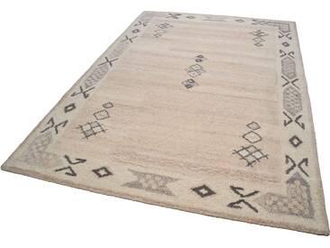 Theko® Teppich »Royal Berber«, 60x90 cm, 18 mm Gesamthöhe, beige