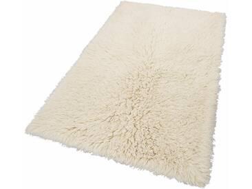 Theko Exklusiv Hochflor-Teppich »Flokos 2«, 90x160 cm, 60 mm Gesamthöhe, beige