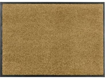 Schöner Wohnen-kollektion Läufer »Broadway Uni«, 50x150 cm, 9 mm Gesamthöhe, gold