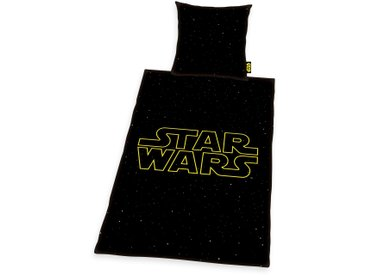 Star Wars Bettwäsche »Star Wars«, 155x220 cm, schwarz