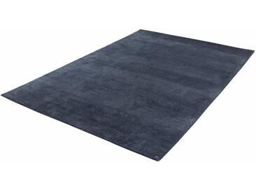 Tom Tailor Teppich »Powder uni«, 65x135 cm, 12 mm Gesamthöhe, grau