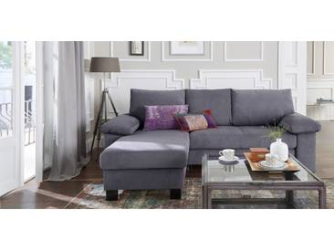 Reposa Eck-Couch »Mobily«, B/T/H 237/167/94 cm, 5 Jahre Hersteller-Garantie, grau