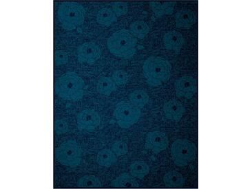 Biederlack Wohndecke »Peony«, 150x200 cm, blau