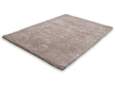 Lalee Hochflor-Teppich »Velvet«, 160x230 cm, silber