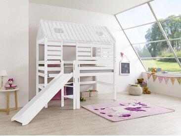 Relita  Tom's Holzhütte  »Eliyas«, 90x200 cm, weiß