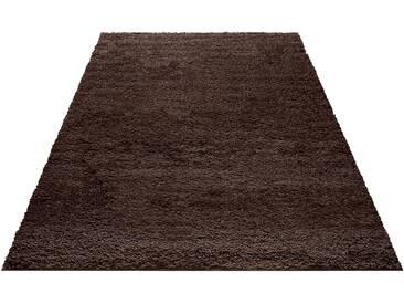 My Home Hochflor-Teppich »Bodrum«, 60x90 cm, 30 mm Gesamthöhe, braun