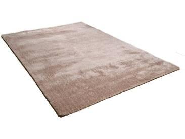 Theko® Hochflor-Teppich »Vido«, 70x140 cm, 32 mm Gesamthöhe, beige