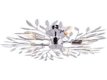 Leuchtendirekt Deckenleuchte »FLORENCE«, silber