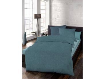 Schlafgut Bettwäsche »Select«, 155x220 cm, waschbar, blau, aus 100% Baumwolle