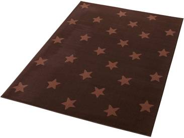 Hanse Home Teppich »Stars«, 140x200 cm, 9 mm Gesamthöhe, braun